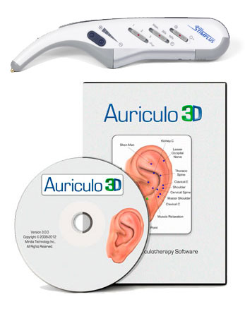 Stimplus Pro with Video Training and Auriculo 3D